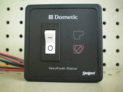 SeaLand Vacuflush Status Panel