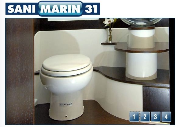 SanMarin Compact Toilet