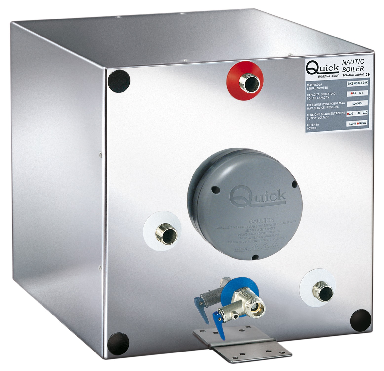 6.6 Gal 220 Volt  BXS Nautic Boiler