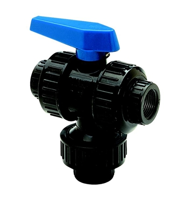 3/4″ 3-Way Multi-Port Ball Valves