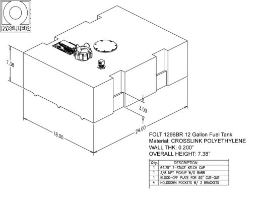 FOLT1296BRM