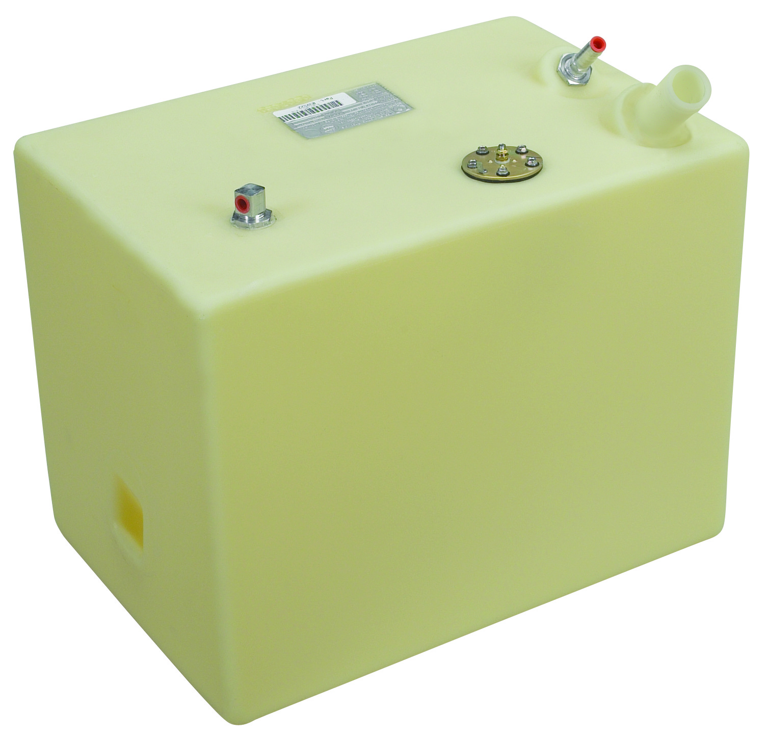 22 Gallon Rectangular Shaped Fuel Tank, 22″x17″x15″, FOLT 2216-1 (032522)