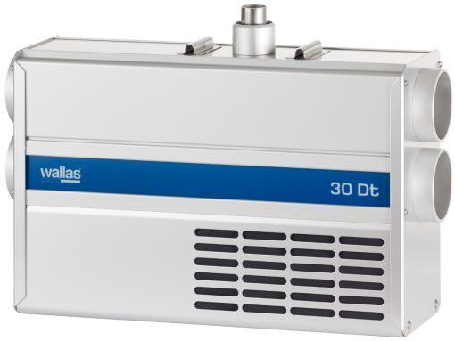 30 Dt Diesel Heater/Kit; unit w/ remote