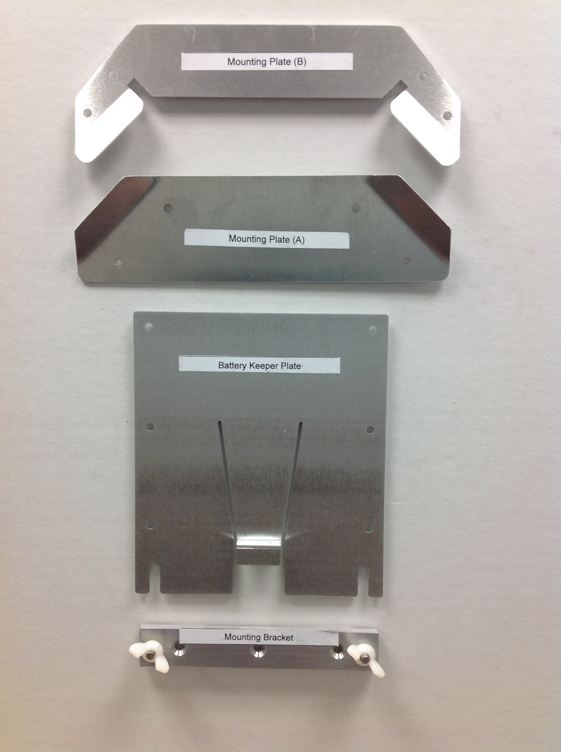 Mounting Plate for Laveo Toilet by Dry Flush