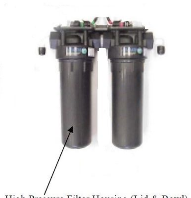"10"" High Pressure Filter Housing FT-FTH-10H"