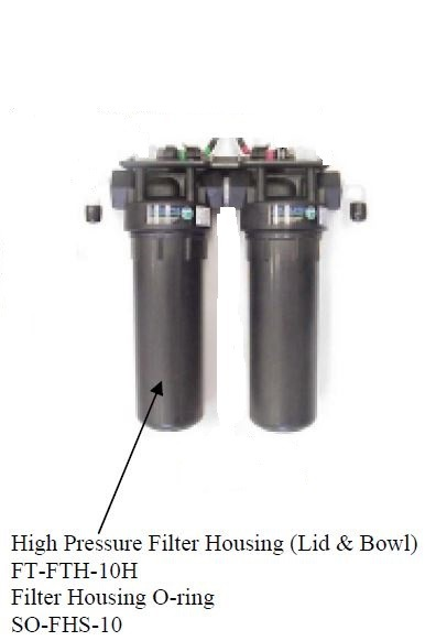 "10"" High Pressure Filter Housing FT-FTH-10H"