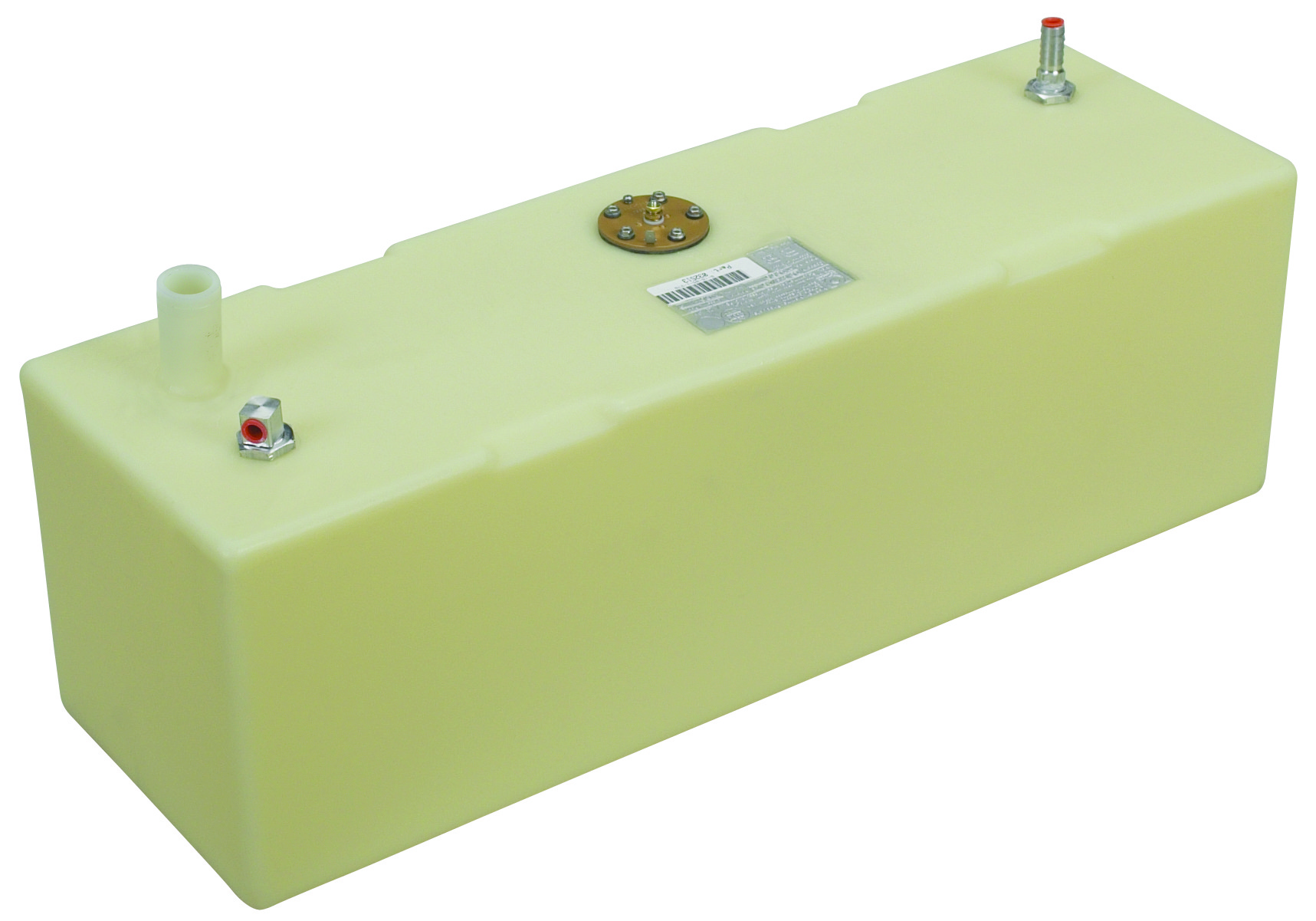 13 Gallon Rectangular Shaped Fuel Tank, 32″x10.25″x10.25″, FOLT1399-1M  (032513)