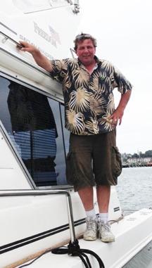Brian aboard Freedom