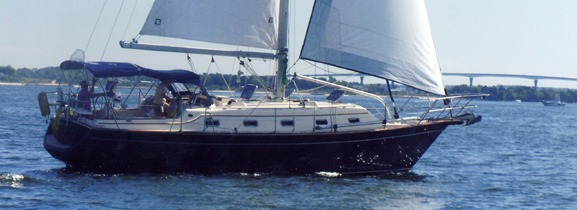 Indigo Under Sail