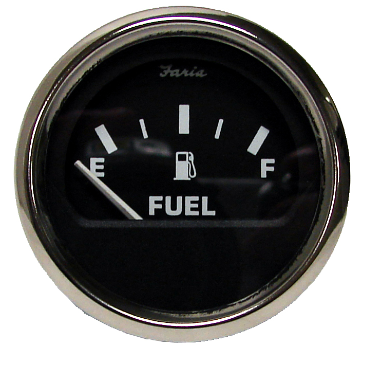 Fuel Level  Gauge – Black Face