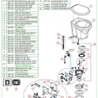 4806 Vacuflush Toilet