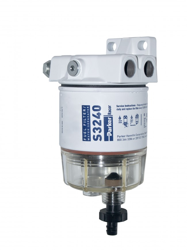 Gasoline Fuel Filter / Water Separator, 120R-RAC-02