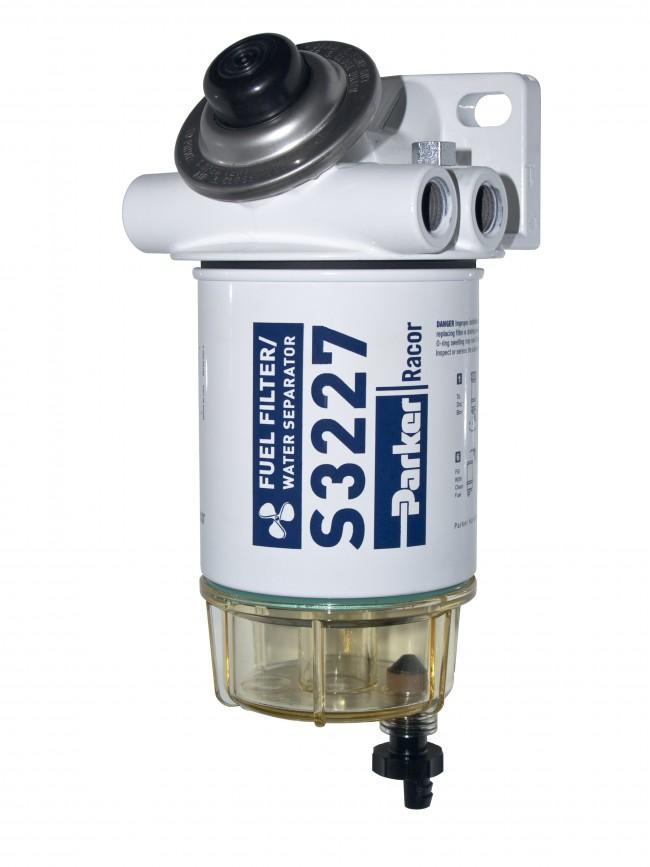 Racor Marine Gasoline Spin-on 490R-RAC-01 - Ocean Link Inc.   Spin On Fuel Filter Assembly      Ocean Link Inc