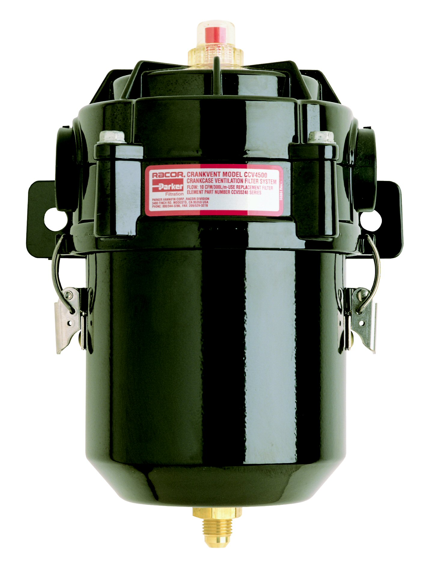 CCV Crankcase Filtration, CCV4500-08L