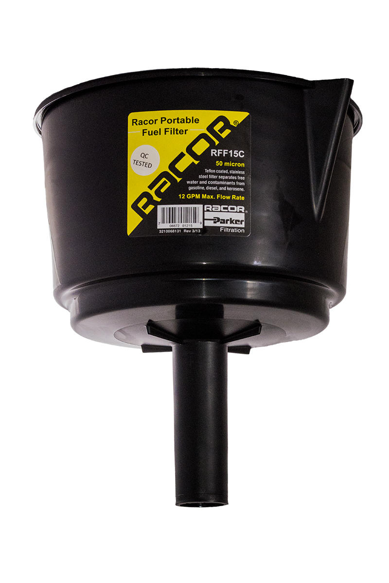 Fuel Filter Funnel 12 15gpm Rff15c Ocean Link Inc Parker Marine