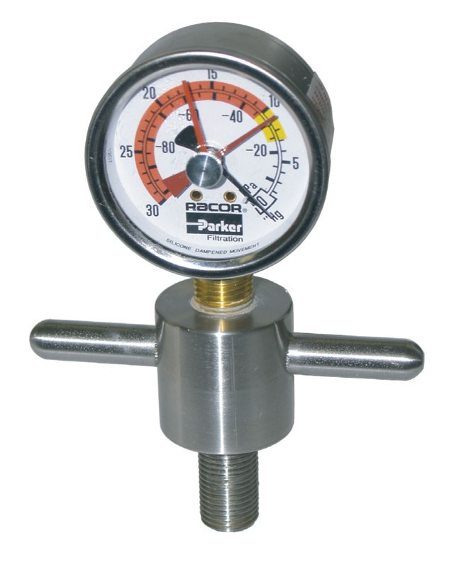 Stainless Steel T-Handle Vacuum Gauge Kit, RK23284