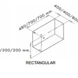 toilet waste handling kit dimensions REC.