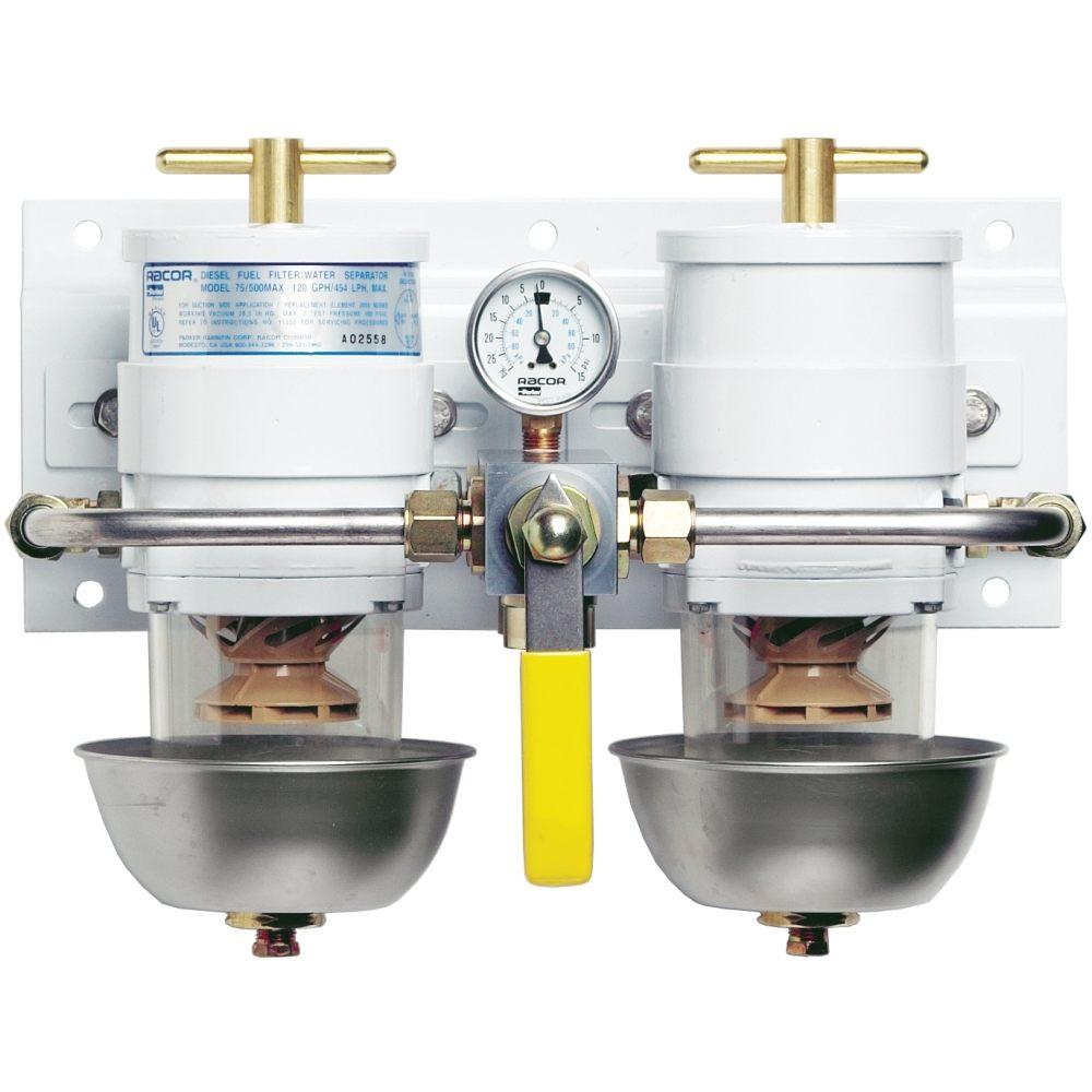 Racor Marine Fuel Filter Water Separator 75500max2 Ocean Link Inc Boat Filters
